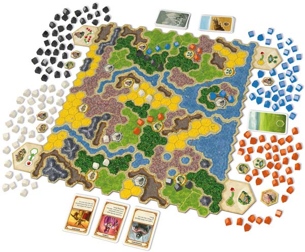 Kingdom Builder Game Board